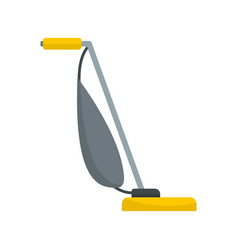 Stick vacuum cleaner icon flat style vector