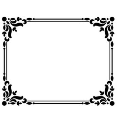 Vintage borders and frames vector