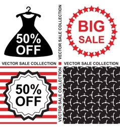 Sale Template Collection vector image