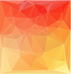 Abstract orange yellow colorful vector