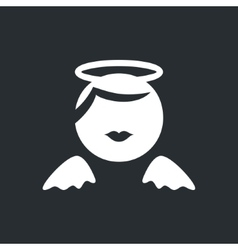 Angel sign vector image vector image