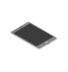 isometric tablet for your design vector image