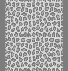 Seamless leopard pattern vector
