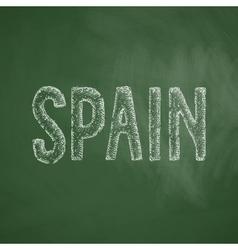 Spain icon vector