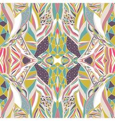 Traditional ornamental paisley bandanna Hand drawn vector image vector image