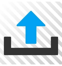 Upload Eps Icon vector