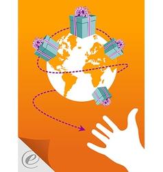 World E-commerce vector image