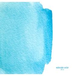 blue watercolor squarer background vector image