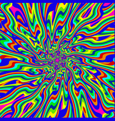 psychedelic infinity vector image