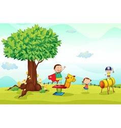kids vector image vector image