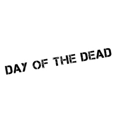 Day Of The Dead rubber stamp vector image
