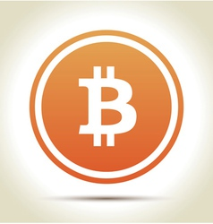 Bitcoin money vector image