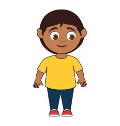 Boy smile child vector