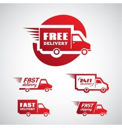 Delivery and shipping 2 vector