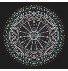 Geometric hipster circle 3ww311 12 vector