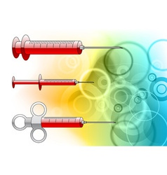 injections background vector image