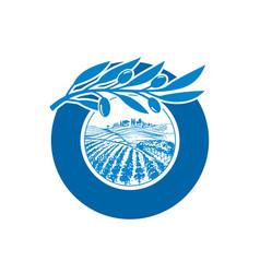 olive-logo vector image