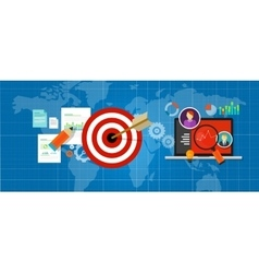 online strategy measure manage internet traffic vector image