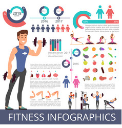 Sports and healthy life business vector