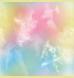 Tie dye digital print pattern vector