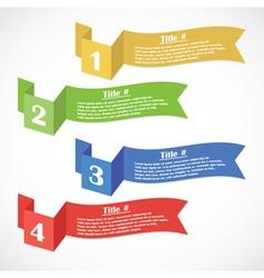 Title elements vector