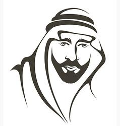 Arabian man vector