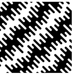 black and white diagonal wavy irregular rounded vector image