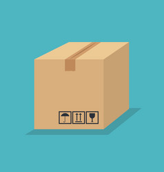 box carton package icon vector image