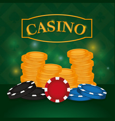 casino leisure game vector image
