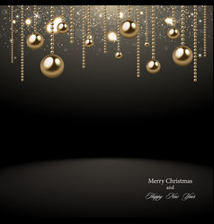 christmas 2018 background vector image