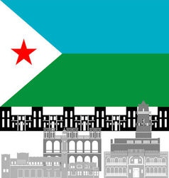 Djibouti vector