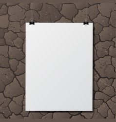 Ground with paper vector