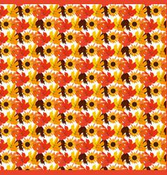 leaves background design vector image