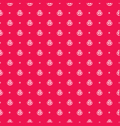 rose flower seamless pattern vector image