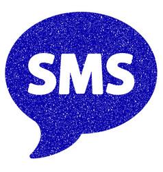 Sms icon grunge watermark vector