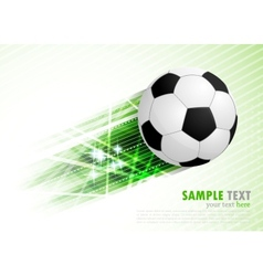 background with ball vector image vector image