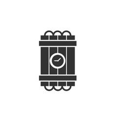 dynamite bomb explosion violence detonate icon vector image