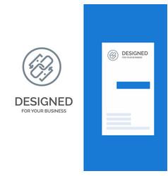 Link chain url connection link grey logo design vector