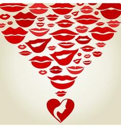 Lips7 vector image
