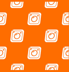 photo pattern orange vector image