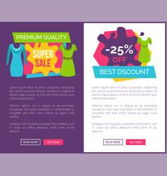 premium quality super sale 25 off best discount vector image