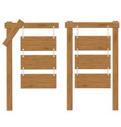 Wooden board 03 vector