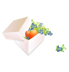Easter Box vector image