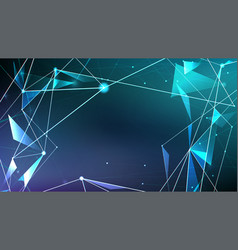 abstract digital background futuristic style of vector image