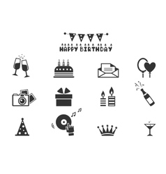 Celebration icons - vector