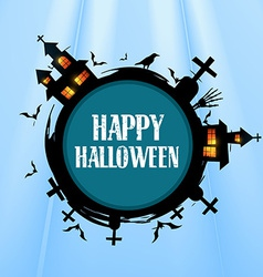 creative halloween design vector image