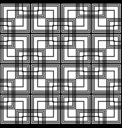 Design seamless monochrome grating pattern vector