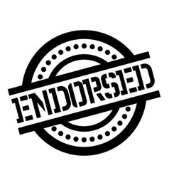 Endorsed stamp typ vector