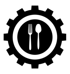 food industry icon sign symbol vector image