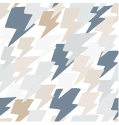 hand drawn doodle thunder backdrop in vector image
